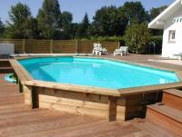 piscine bois h 1.50