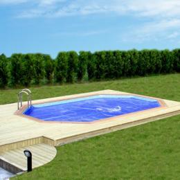 piscine bois 5.50 x 3.50