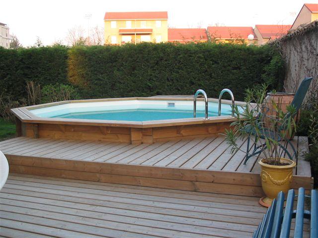 piscine bois du nord