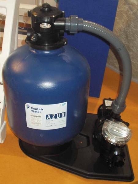 Packs filtration kit filtration sable azur 5 5 m3 h for Pack filtration piscine