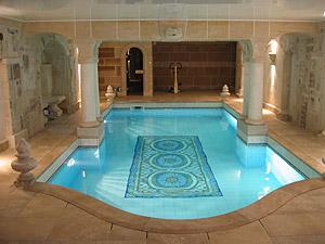 Piscines piscine bois int rieur piscines spas for Piscine bois interieur